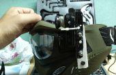 Hacer un montaje de cámara de la máscara de Paintball v2.0