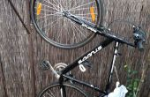 Bicicleta rack de montaje de pared (impresión 3D)