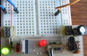 Simple 5 y 3,3 voltios placa fuente de alimentación
