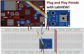 Plug and Play usando LabVIEW Pmods