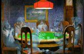Fantasma de perros jugando poker (cualquier imagen en una escena de fantasmas es el mismo)
