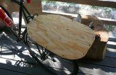 Bicicleta muy simple y fácil del estante plano