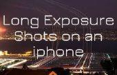 Fotos de larga exposición en Iphone