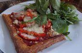 82p Pizza Healthish fresca de hojaldre!