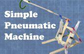 Máquina neumática de simple