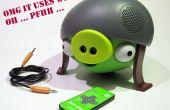Audio vía construido en Bluetooth para cualquier sistema de altavoces
