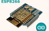 WiFiBee (ESP8266) LED parpadea Arduino IDE