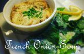 Francés sopa de cebolla - una guía fácil para hacer una sola porción de sopa de cebolla francesa