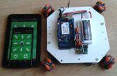Robot móvil de la rueda de Omni - IoT