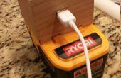 Batería herramienta inalámbrica USB cargador de