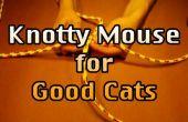 Video de ratón con nudos para gatos de buena