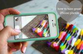 Cómo tomar fotos con un iPhone