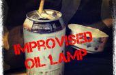 Cómo construir una lámpara de aceite improvisado.
