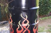Fabricación de un ahumador tambor