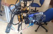 Suspensión cardán calibración con IMU MPU-6050