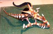 Como hacer una calavera de Dragon