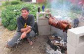 Cómo asar un cerdo