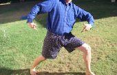 Pantalones cortos de cordón