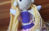 Princesa de hadas Amigurumi muñeca