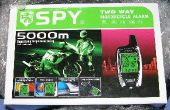 Instalar una alarma de dos vías moto SPY 5000 en un 1998 Honda CB250 Nighthawk