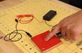 Simple botón electrónico