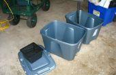 Construir su propia caja llena de tierra