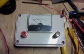 Simple DC-amperímetro