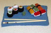 Crochet Set de Sushi