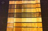 Lana de acero y envejecimiento vinagre de madera/Ebonizing/intemperie (un controlado experimento)
