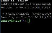 Cómo SSH a su servidor de inicio