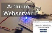 Luces de Control de servidor Web de Arduino, relés, Servos, etc....