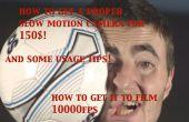 Obtener una cámara lenta de épica 1000fps para $150! y consejos de uso!
