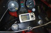 Montaje de GPS motos modificadas para requisitos particulares