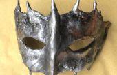 Hacer una única máscara quicksilver moldeada de la cara