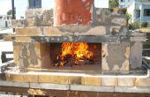 Cómo construir un horno de Pizza leña temporal ladrillo con barato, fácil a encontrar materiales