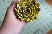 Cómo hacer una rosa de cinta de conducto punta