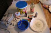 Prótesis de gelatina de espuma