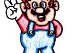 Cómo dibujar a Mario paz!