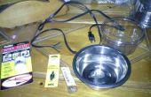 Plato de agua caliente de DIY barato y seguro para mascotas