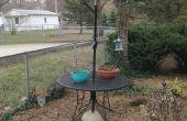 Soporte de paraguas de patio (el uso que tiene método)
