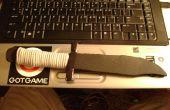Cuchillo de combate de flip-flop de la espuma
