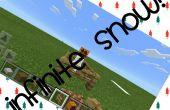 La nieve infinita en Minecraft