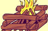 Cómo iniciar un fuego con un pedernal de magnesio