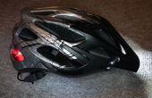 Luces del casco de la bici