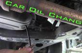 Coche aceite cambio-el camino de la derecha
