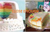 1 mil Layer Cake de cumpleaños (Mille Crepe)