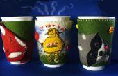 Coberturas de Copa de café lindo