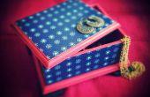 Caja de joyería tradicional