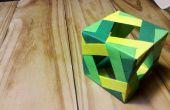 Cómo hacer una caja de origami modular