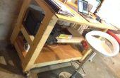Cómo hacer un escritorio de pie